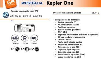 Westfalia, Kepler One cheio