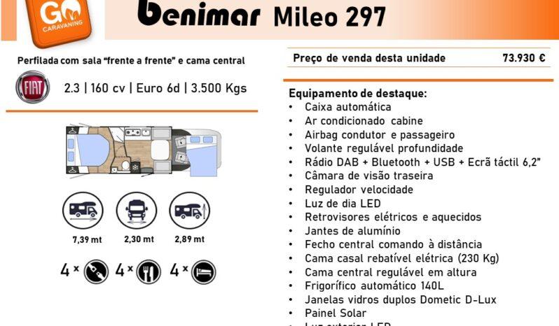 BENIMAR, Mileo 297 cheio