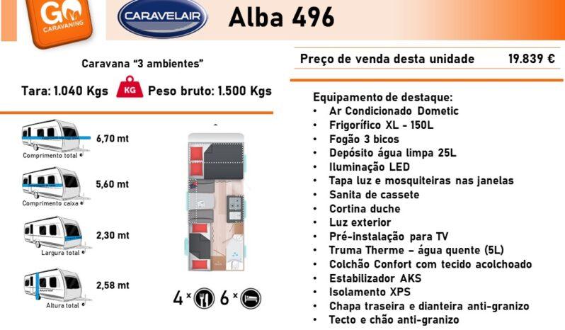 CARAVELAIR, ALBA 496 cheio